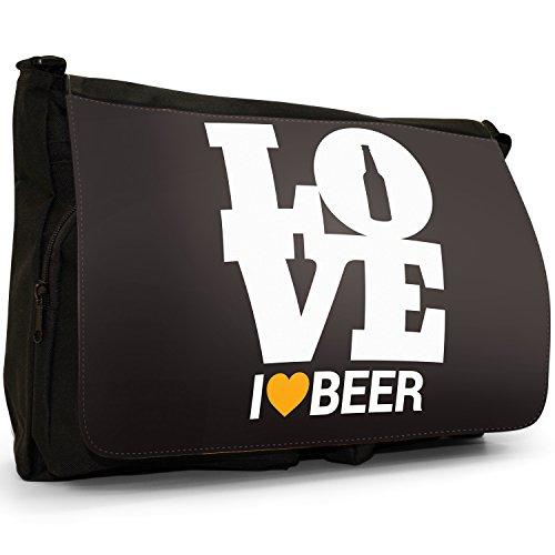 Grande Beer In Alcohol Tela Everyone Messenger Tracolla nbsp; Loves Nero A Pub UIqx7R