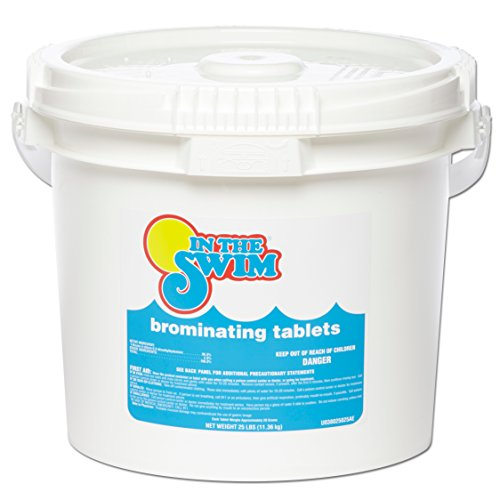 - In The Swim C6025 Swimming Pool and Spa Bromine Tablets 25 lbs.