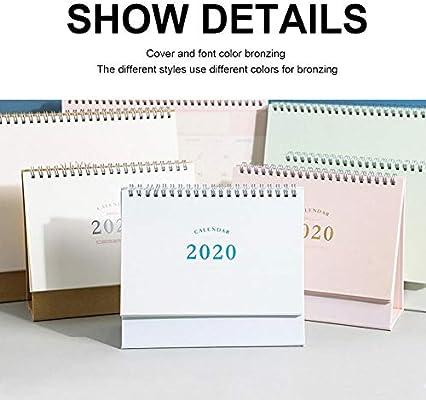 Calendario Diario Mesa, Calendario De Escritorio 2020, Calendario ...