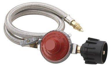 Bayou Classic M5HPR Stainless 10 psi Hose- Adj. Regulator