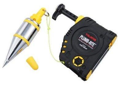 6 Pack Tajima PZB-400GP 14 oz Plumb-Rite Commercial Grade Fast & Accurate Plumb Bob Setter & Bob