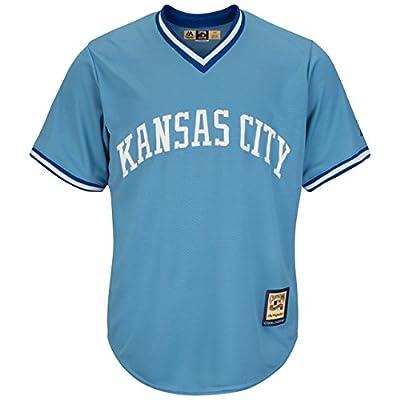 Kansas City Royals MLB Men's Cool Base Cooperstown Pullover Jersey (2XT)