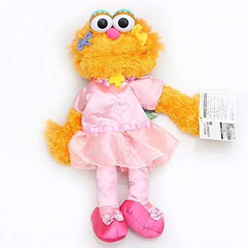 FENGDONG Doll Large Puppet Lovely Cartoon Sesame Street Soft Plush Toy Figures Color 04 35cm