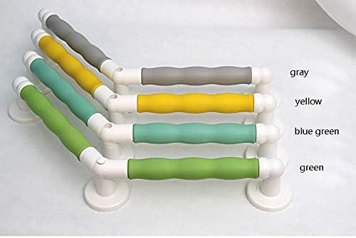WGWJ Aluminiumlegierungsbadezimmerhandläufe, farbige Sicherheitshandläufe verstärkte Badezimmerbadezimmerdusche ältere Handläufe barrierefreie HandläufeWGWJ