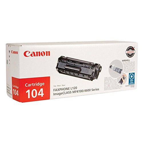 Canon 104 Toner, 2000 Page-Yield, Black