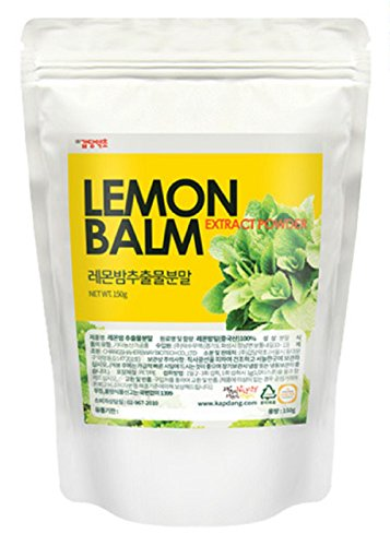 Lemon Balm Extract Powder Natural 100% Health Diet Tea Vitamin C Insomnia Digestion Reduces Anxiety 1 Pack 150g