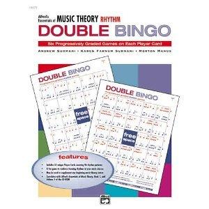 Essentials of Music Theory: Double Bingo Game (Rhythm) [Paperback] [2001] Karen Farnum Surmani, Andrew Surmani, Morton Manus