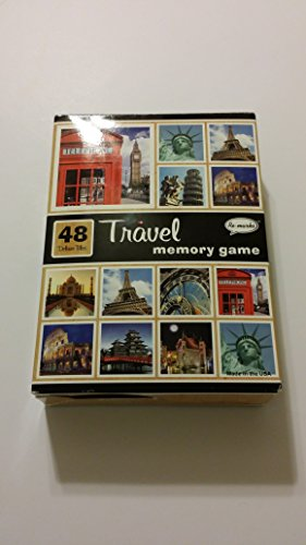 Travel Memory Game 48 Deluxe Tiles - Re-marks
