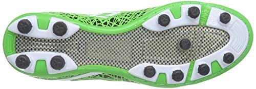 Lotto LZG VII 200 FG - zapatillas de fútbol de material sintético hombre multicolor - Mehrfarbig (BLK/MINT FL)