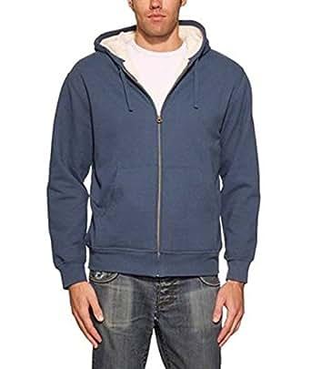 Weatherproof vintage men 39 s full zip suede fleece hoodie for Weatherproof vintage men s lightweight flannel shirt