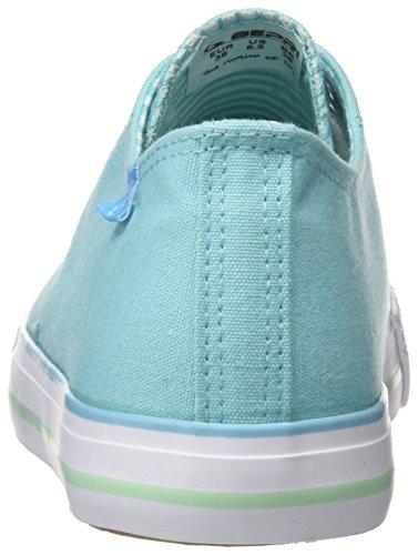 BEPPI Canvas Shoe, Zapatillas de Deporte Para Mujer Azul (Turq. Blue)
