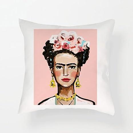 Hiros® Frida Kahlo Cojín con Inserto de Regalo para ...
