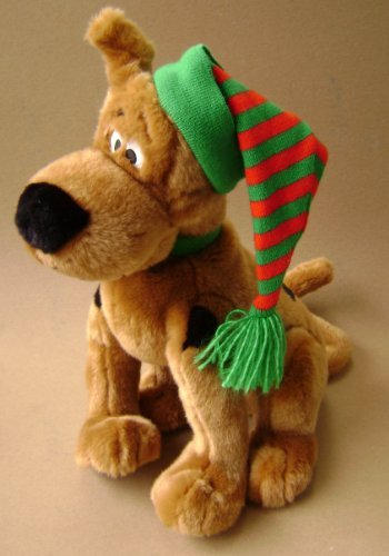 Scooby-Doo Holiday Dog Stuffed Animal Plush Toy Macy's Ex...