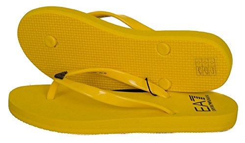 Emporio Armani , Damen Zehentrenner Gelb gelb Gelb