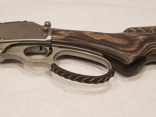 D4 Guns Handcrafted Leather Lever Wrap for Lever Action Rifles and Shotguns - 2 Qty