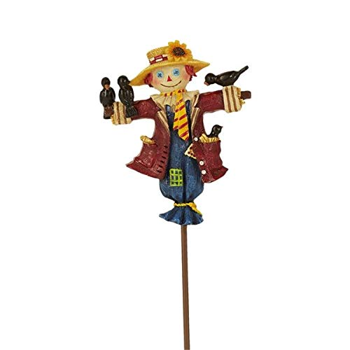 Studio M Merriment Fairy Garden Fall Thanksgiving Halloween Ornament - Scarecrow