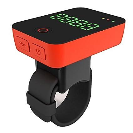 MiniWing Camile R100 inteligente GPS ciclismo acción cámara y computadora (Rojo)