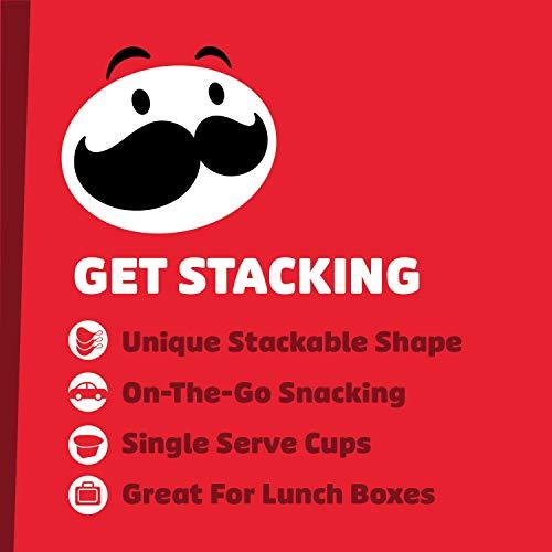 Pringles Potato Crisps Chips, Lunch Snacks, Office and Kids Snacks, Snack Stacks, Variety Pack, 19.5oz Box (27 Cups)