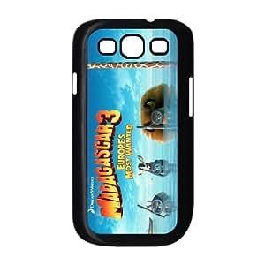 Customize Cartoon Madagascar Back Cover Case for SamSung Galaxy S3 i9300 JNS3-825