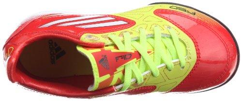 ADIDAS F10 TRX TF Scarpa da Calcio Junior, Giallo/Arancione, 36 2/3