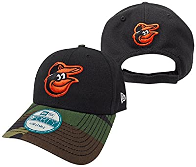 Baltimore Orioles The League Camo 9FORTY Adjustable Hat / Cap by New Era