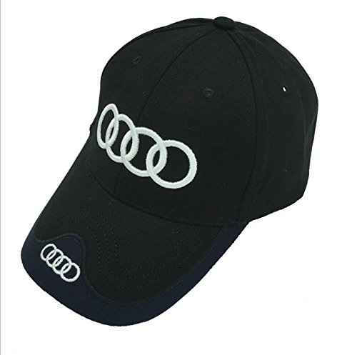 monochef Auto sport Car Logo Black Baseball Cap F1 Racing Hat for Cadillac Accessory