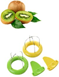 Investment Creative Magical Home Kiwi Peelers & Zesters Stainless Fruit Corers Separator 2-in-1 Cutter Fruit Knife Fruit... occupation
