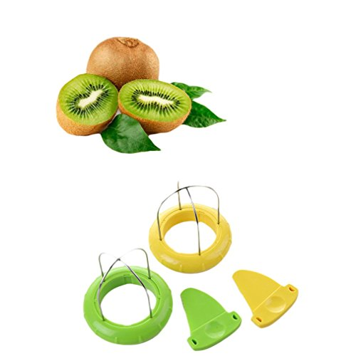 Show Creative Magical Home Kiwi Peelers & Zesters Stainless Fruit Corers Separator 2-in-1 Cutter Fruit Knife Fruit & Vegetable Tools (2 colors) price
