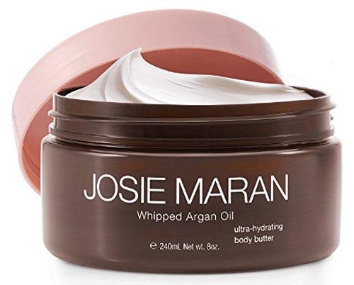 JOSIE MARAN Whipped Argan Oil Body Butter TOASTED BROWN SUGAR 8floz. 240ml. -