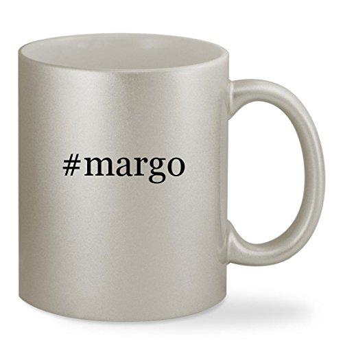 Price comparison product image #margo - 11oz Hashtag Silver Sturdy Ceramic Coffee Cup Mug