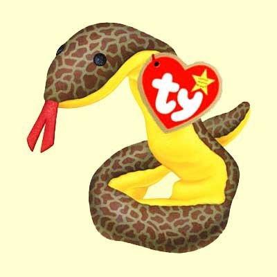 Slitter the Snake - McDonald's Ty Teenie Beanie MIP - 2000 #02
