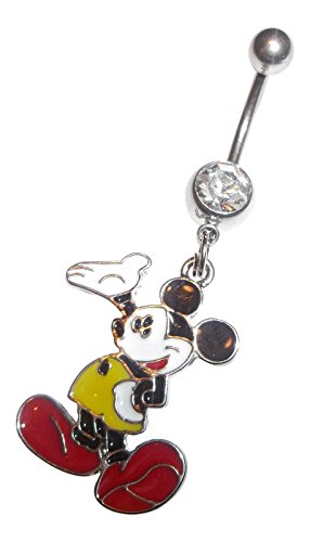 disney belly button rings - 7