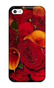 Jimmy E Aguirre's Shop New Style Durable Case For The Iphone 5/5s- Eco-friendly Retail Packaging(fall Flowers) 3421061K76555107