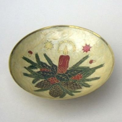 India Overseas Trading Corporation BR73133 - Brass Christmas Bowl