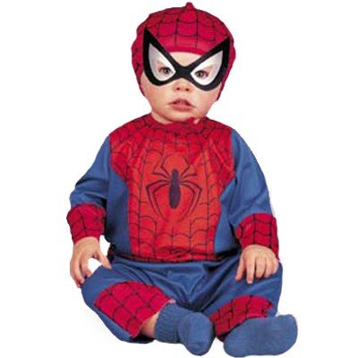 Baby Spiderman Costume Size 3-12 (Spiderman Costume Size 9-10)