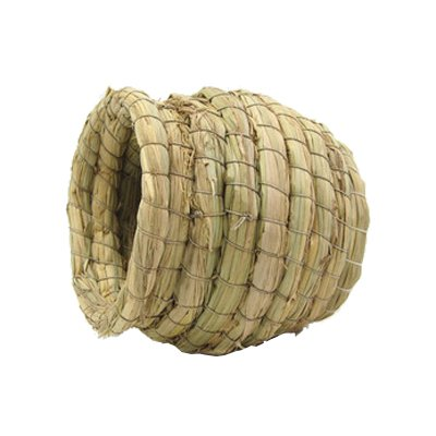 Pet Products Bird Nest Handwoven Straw House For Parakeets C