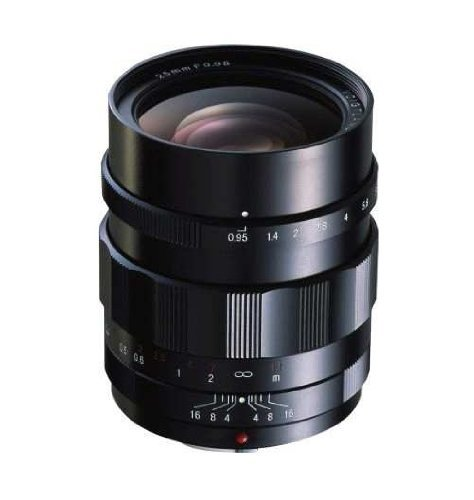 Voigtlander 25mm f/0 95 Nokton Aspherical Lens Type II Manual Focus for Micro 4/3 Mountの商品画像