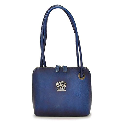Italian in Emerald Roccastrada Pratesi Bag Woman Leather in Blue Cow Womens Leather q5xn4waF