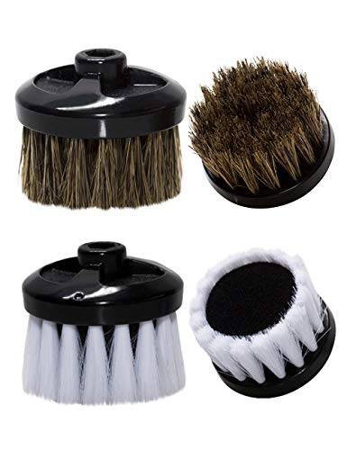 The King's Shoes Electric Shoe Polisher Replacement Brush Set, 2pcs