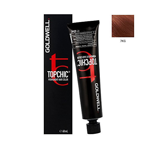 Goldwell Topchic Hair Color Coloration (Tube) 7KG Mid Copper Gold