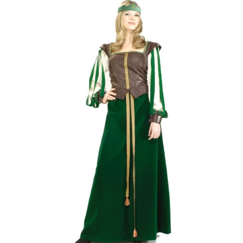 Maid Marion Designer Collection Adult Costume Adult (X-Large (18-20)), Bags Central