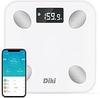 Báscula de Baño Digital DIKI Escala Inteligente con APP para iOS y Android