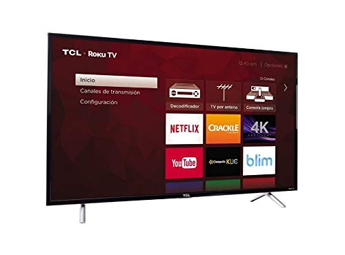 TCL 49S405 49-Inch 4K Ultra HD Roku Smart LED TV (2017 Model) (Renewed)