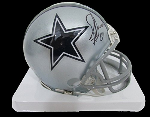 Jay Novacek Dallas Cowboys Autographed/Signed Mini Helmet BECKETT BAS Autographed Cowboys Mini Helmet