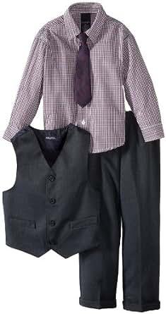 Amazon.com: Nautica Dress Up Little Boys' Birdseye Vest
