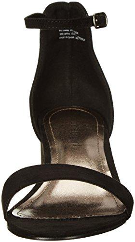 Madden Girl Womens Lillian Dress Sandal Black Fabric