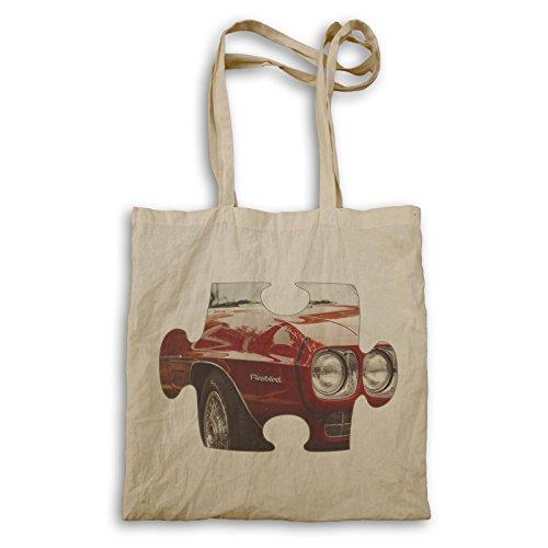 Puzzle Vintage altes schönes Auto Bild Tragetasche e584r