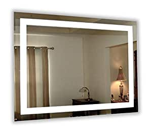 Amazon.com: LED Front-Lighted Bathroom Vanity Mirror: 48