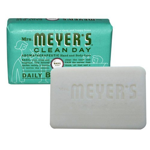Mrs  Meyers Bar Soap Hard 5 3 Oz Geranium Scent by Johnson S C  & Sons Inc