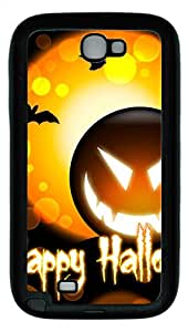 Samsung Galaxy Note II N7100 Cases & Covers - Happy Halloween Custom TPU Soft Case Cover Protector for Samsung Galaxy Note II N7100 - Black
